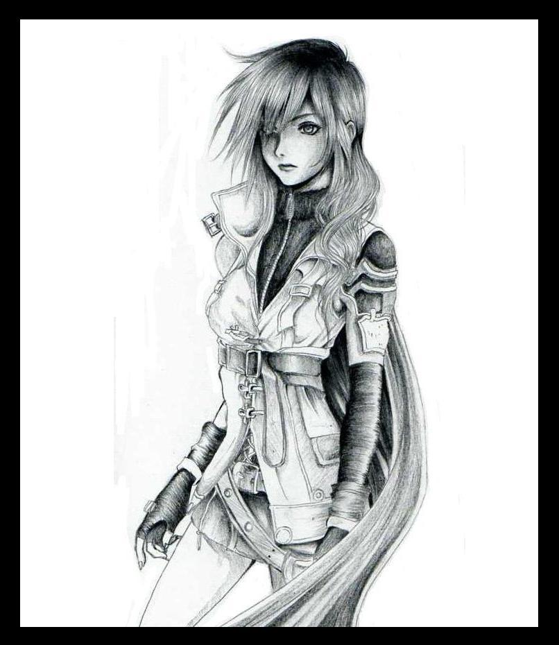 Final Fantasy 13: Lightning by Rurutia8