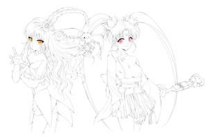 Commission: Magical Girl Pretty Sammy
