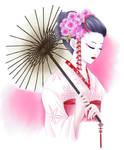 Commission: Geisha