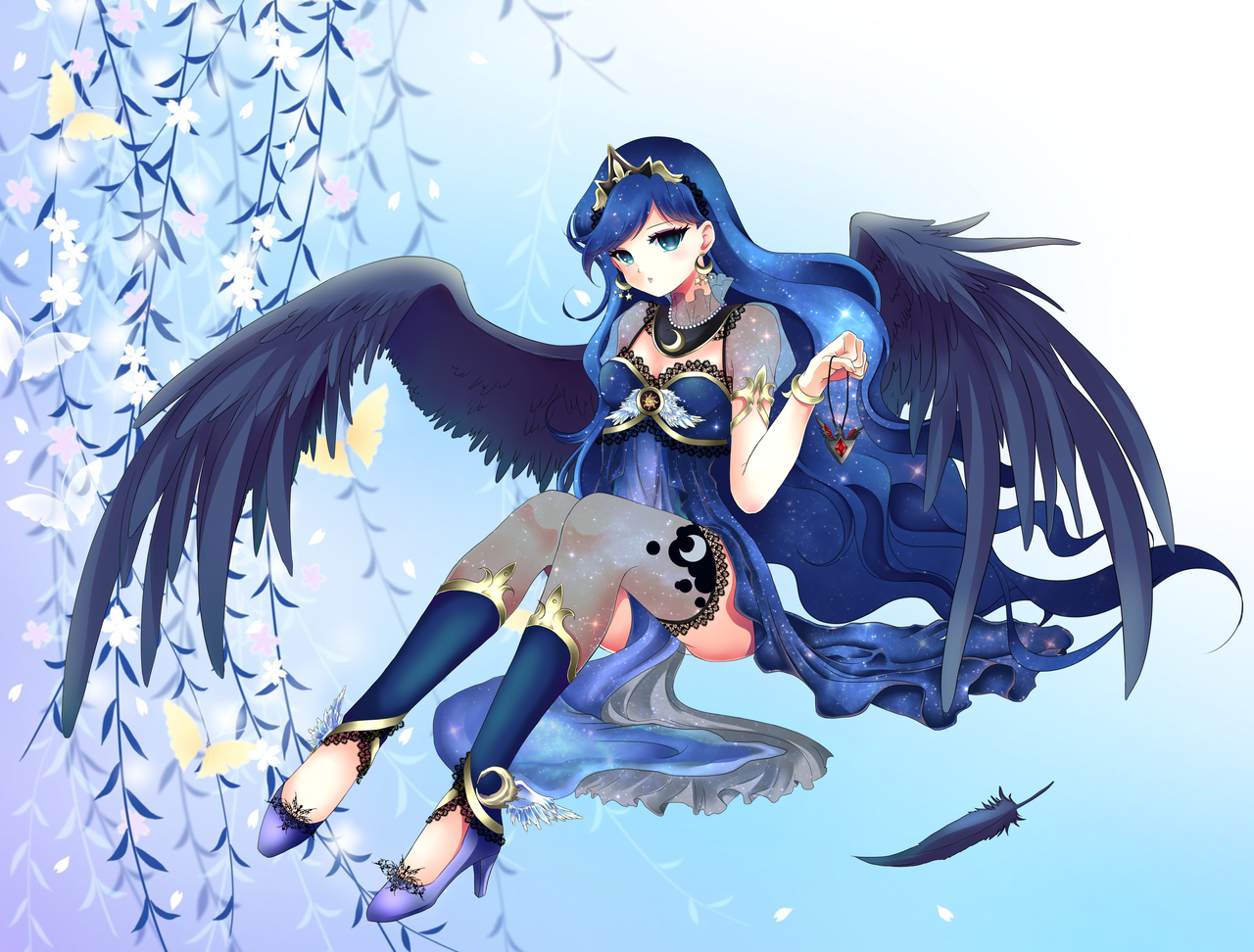 My Little Pony: Princess Luna By Rurutia8 On DeviantArt