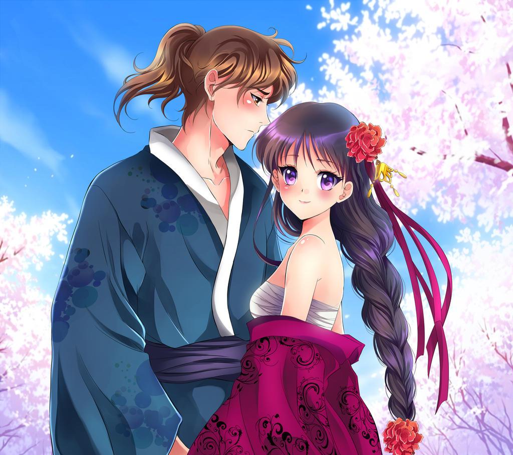 Yuichiro and Rei by Rurutia8