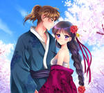 Yuichiro and Rei