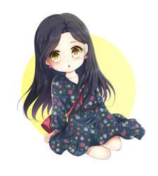 Chibi Hyunjin by Rurutia8