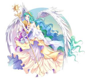 Commission: Princess Celestia (My Little Pony)