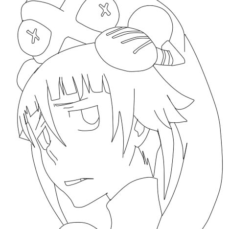 Soul Eater Coloring Pages Crona soul eater maka and crona by ratlink ...