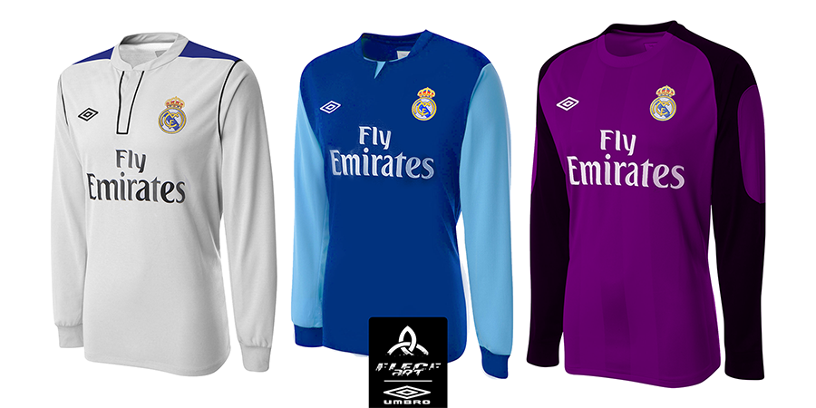 san francisco c17b3 62896 REAL MADRID Umbro Fantasy 2015 H/A/GK Jerseys by EleceART on ...