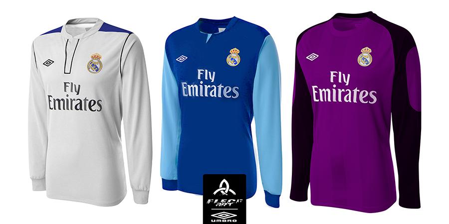 san francisco d02eb 54051 REAL MADRID Umbro Fantasy 2015 H/A/GK Jerseys by EleceART on ...