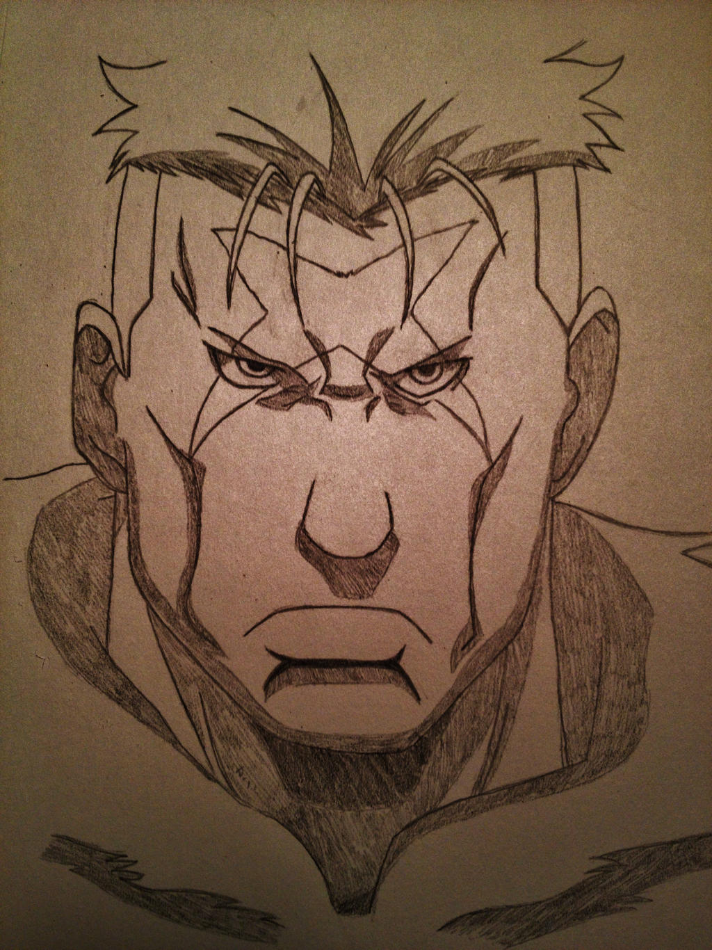 Scar Fma by TheLegacyOfJP