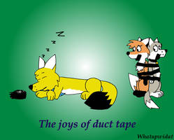 The Joys of Duct Tape by Whatupwidat