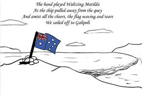 Anzac Day by Whatupwidat