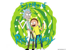 5 years of Rick and Morty!!! by mortydraws42