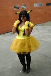 Pikachu Girl by hina590