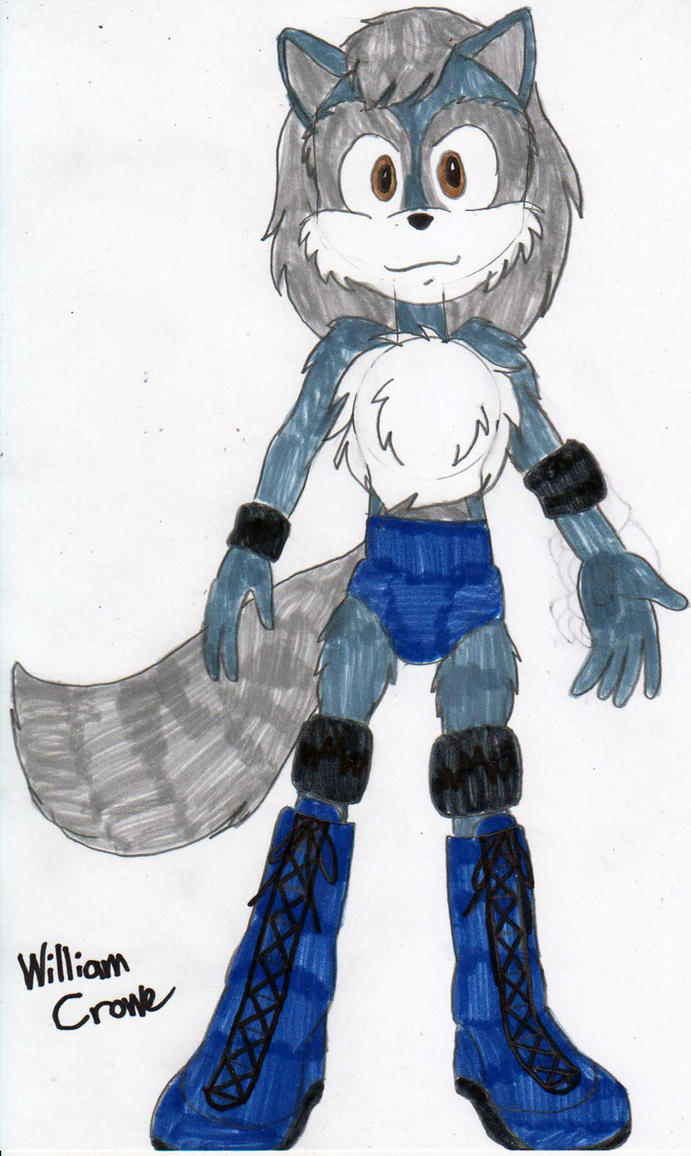 Rampage the Wolf by crowew78