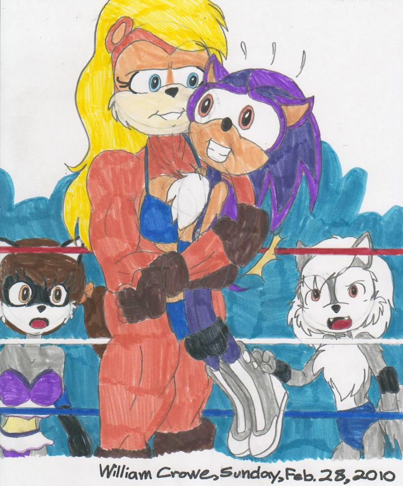 Heather vs. Billy by crowew78