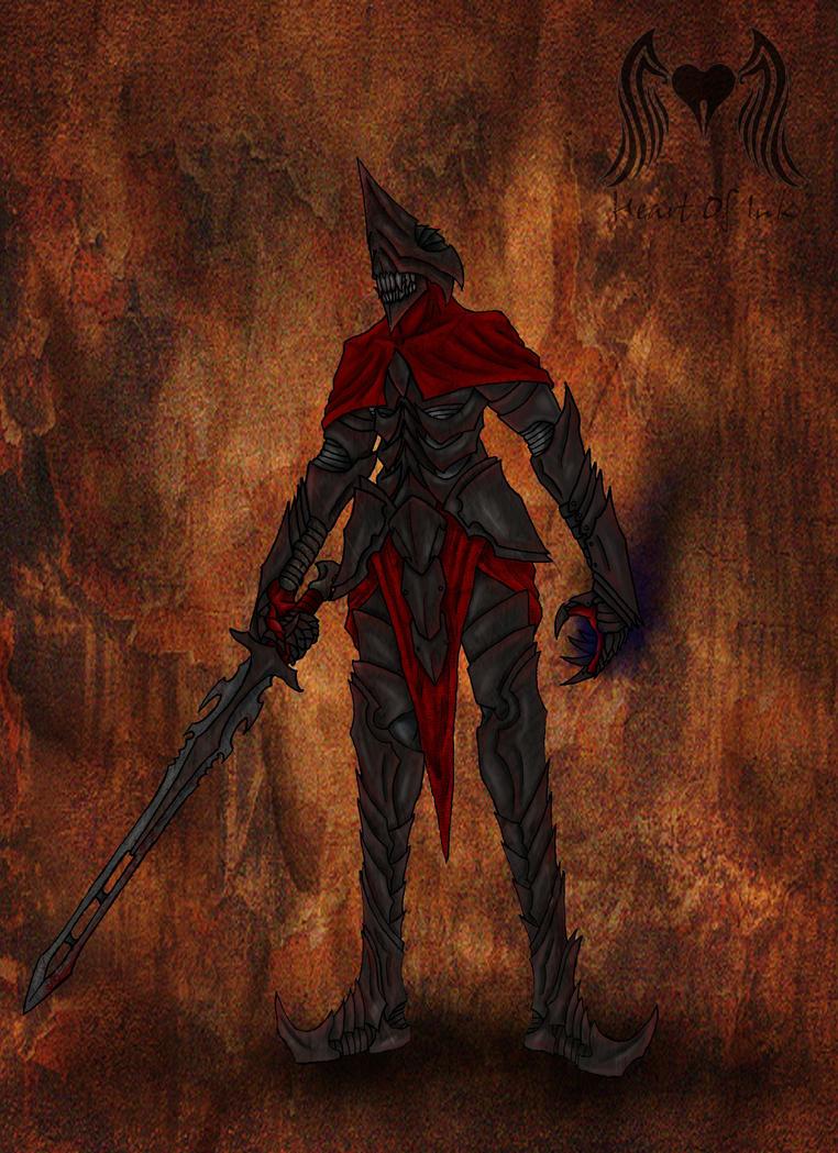 Death Knight by Heart0fInk