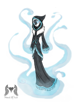 Fog sorceress by Heart0fInk