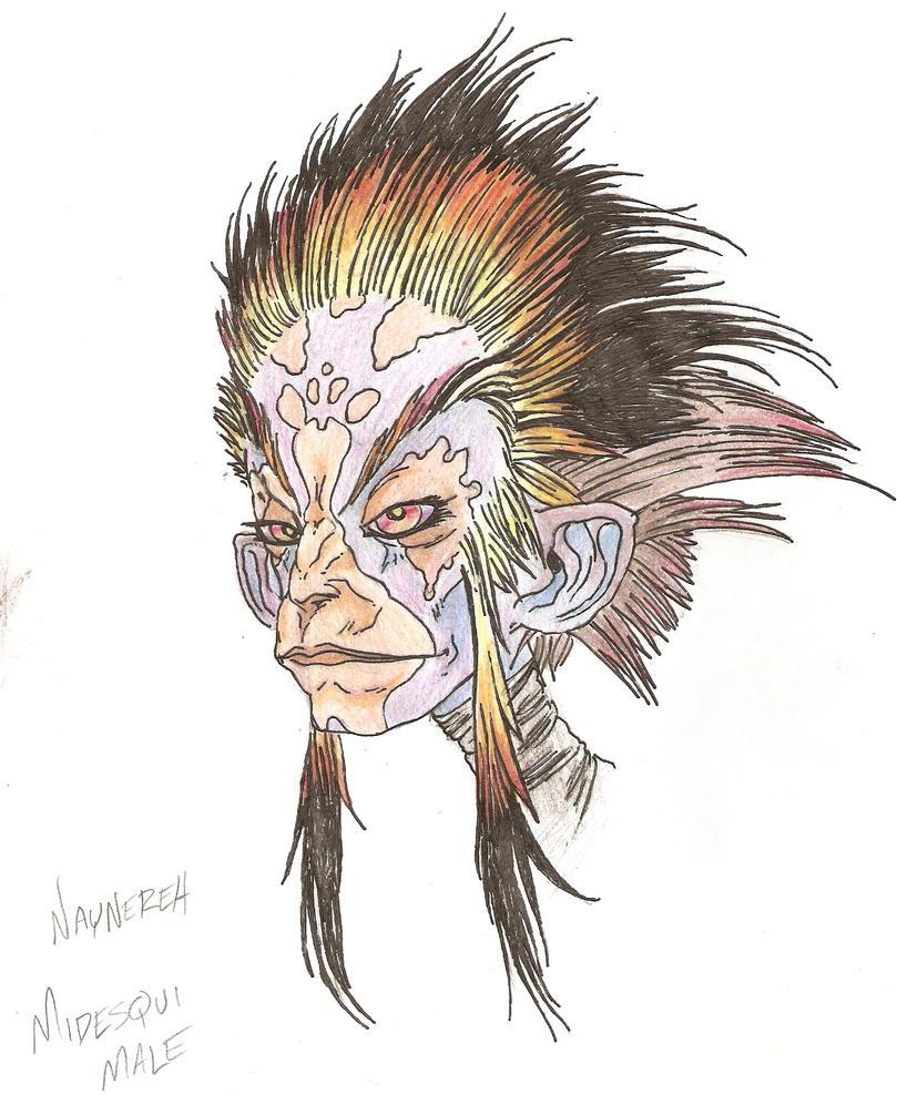 Midesqui male final by JoshuaJordan