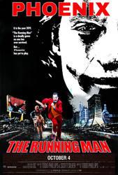The Running Man Parody Poster (w/Joker) by Barneystudioz