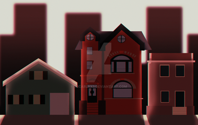 houses by X3carlyX3