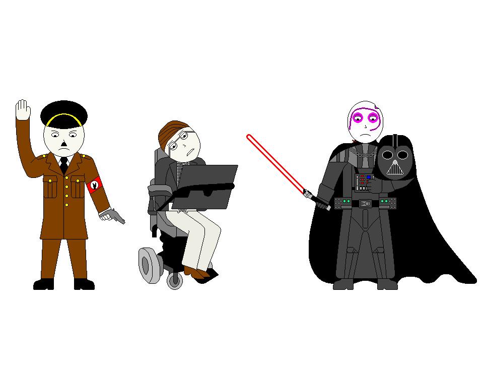 ERBOH #16: Adolf Hitler vs. Darth Vader 2 by mashitandsmashit