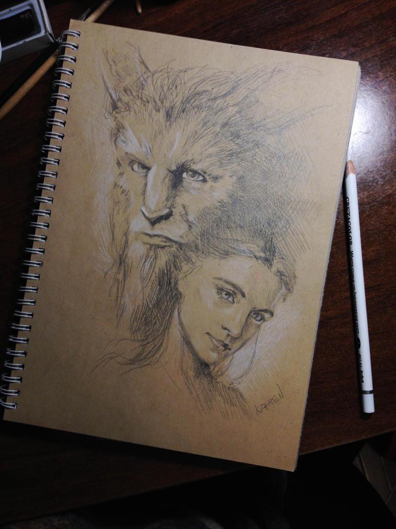 Beauty and the Beast by Ka-ren