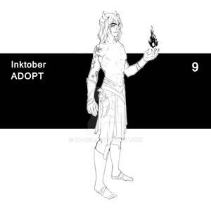 09.10.21 Inktober - Adopt 09 (CLOSED)