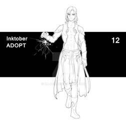 12.10.21 Inktober - Adopt 12 (CLOSED)