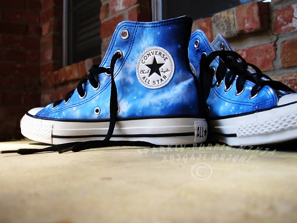 ffc3727ce744 Galaxy Converse the 2nd by sparkly-purple-ninja on DeviantArt