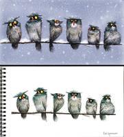 Owls by spencerdesign