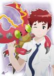 Koushiro and Tentomon - Digimon Adventure Tri