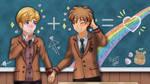 A High School memory ~ SoSPoOT by Fayrin-kun