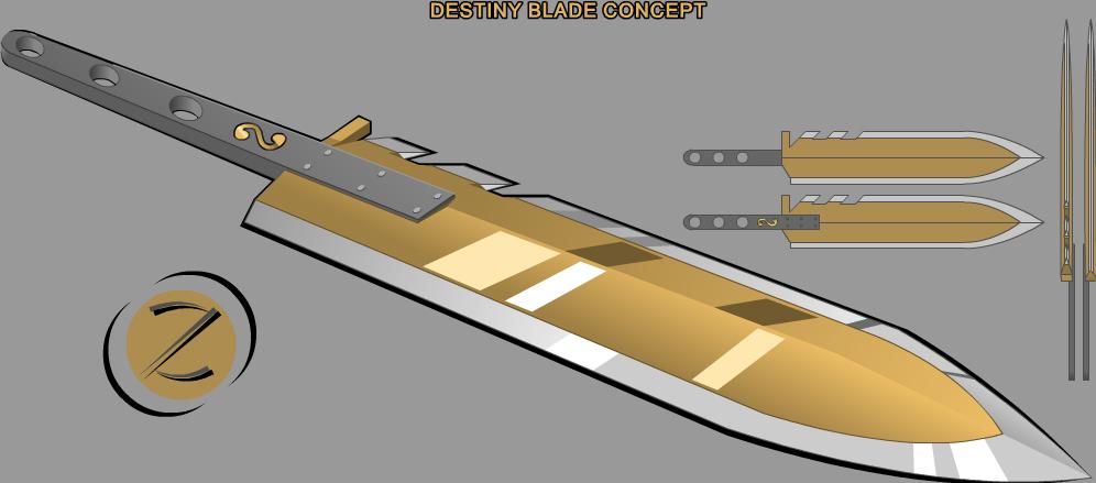Destiny Blade Concept by Zen-Zinxe