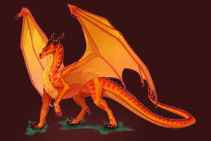 Peril [Wings of Fire] by eagleclaw6089