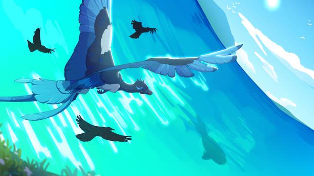 Azul [Art Fight 2021]
