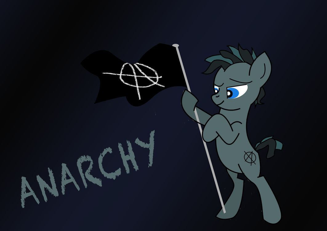 WAC: OC. Anarchy for the Equestria by sodabothorse