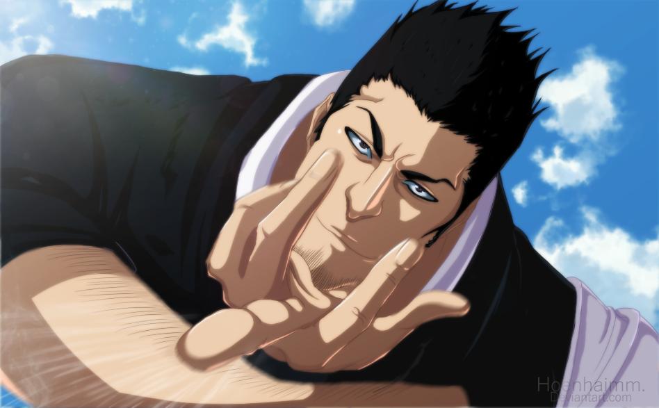 Isshin  Kurosaki | Bleach by Kaminoonto