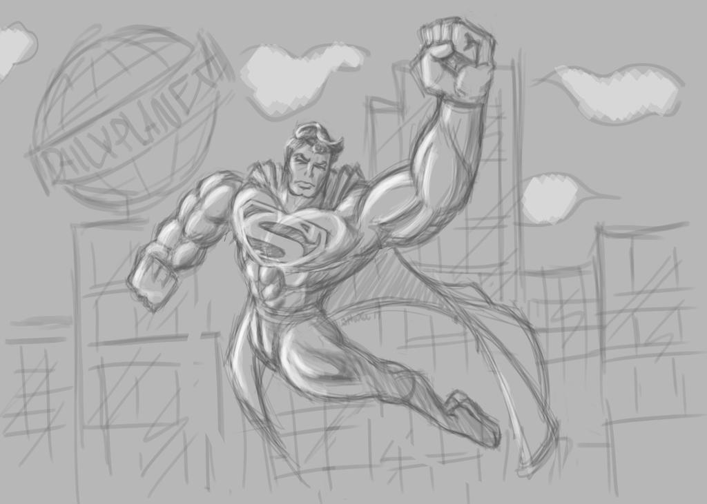 SupermanSketch3.20.17 by Radicaljman