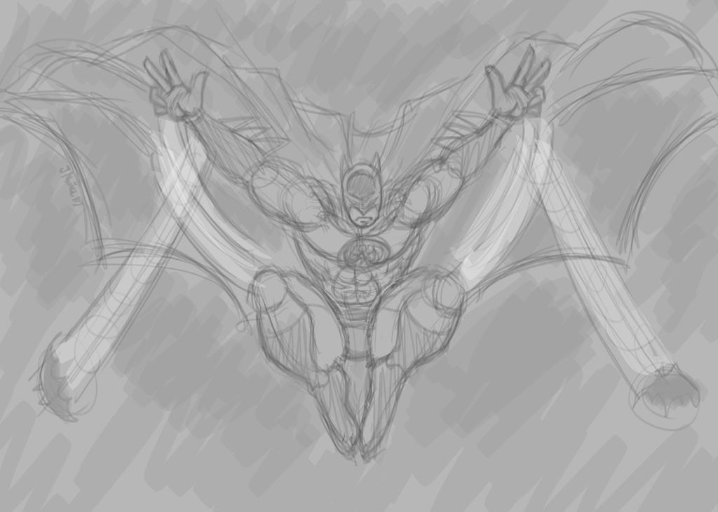 BatmanSketch3.20.17 by Radicaljman