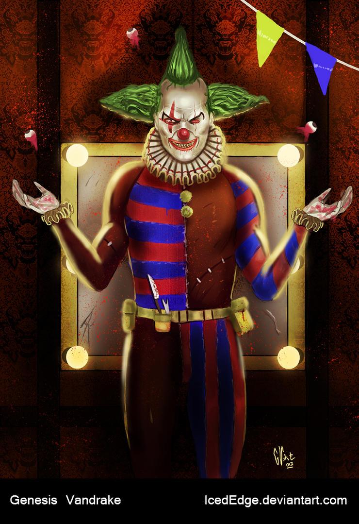 Killer Clown by IcedEdge
