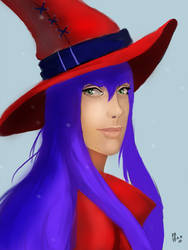 Cute witch by IcedEdge