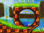 Green hill zone by IcedEdge