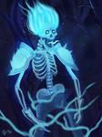Ghost skeleton by IcedEdge