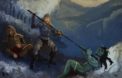Warriors by IcedEdge