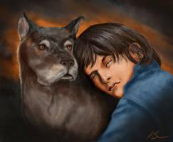 Nate's Mabari by MaevesChild