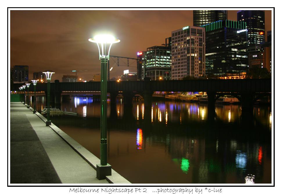 Melbourne Cityscape 2 by c-lue