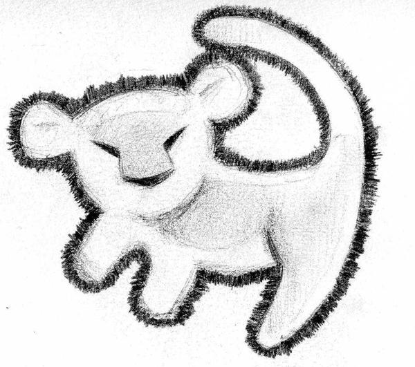 Tatouages Disney together with Rafiki Lion King Drawing together with Lions Coloring Pages 5 also Lion King 102125201 additionally How To Draw Timon From The Lion Guard. on easy to draw simba from the lion king