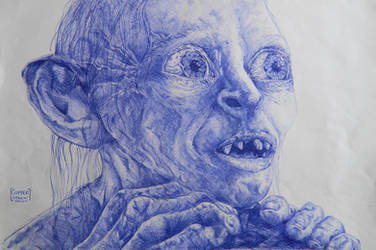 Gollum by Copperspoon