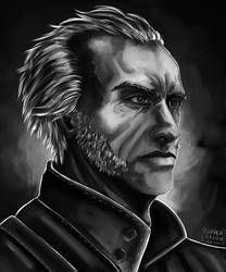 [The Witcher 3] The barber-surgeon by Copperspoon