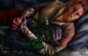 Peaceful - Nott the Brave and Caleb Widogast
