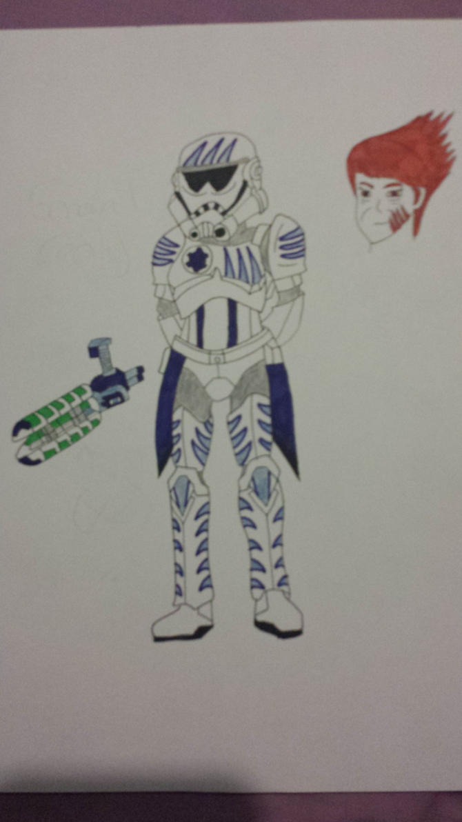 Star Wars Rebels - General Cecily by Delita-1